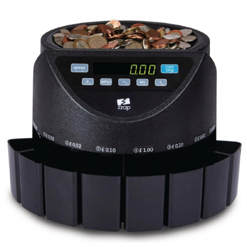 ZZap CS20 GBP Coin Counter & Sorter 220 coins/min GBP